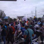 Buruh Demo Tuntut Hak di PT Indomarco Cabang Pekanbaru